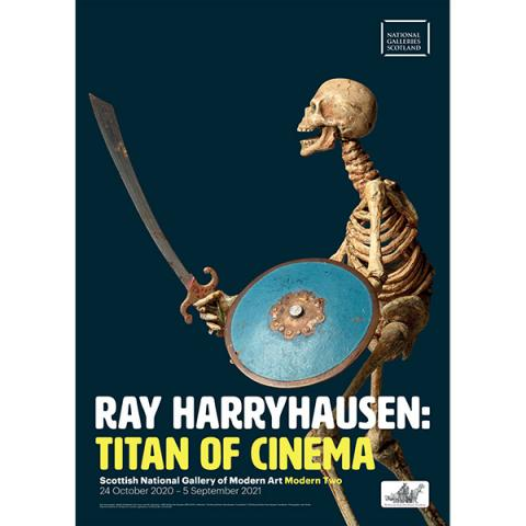 Ray Harryhausen exhibition poster