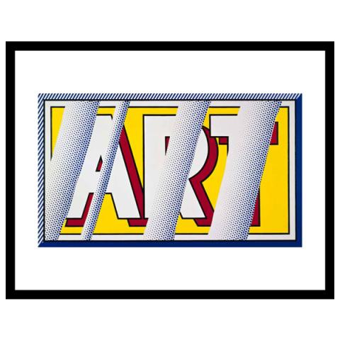 Reflections: Art Roy Lichtenstein Framed Art Print