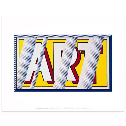 Reflections: Art Roy Lichtenstein Poster Print