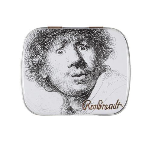 Surprised Self Portrait Rembrandt Mint Tin