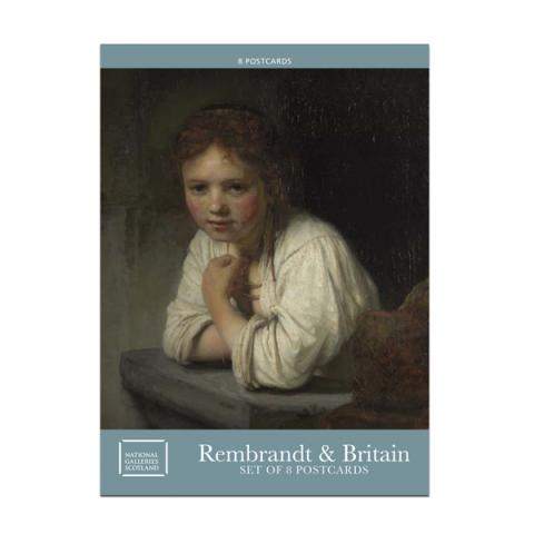 Rembrandt Britain's Discovery Of The Master Postcard Pack