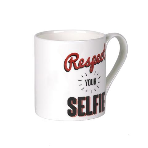 Respect your selfie mug