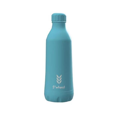 Reusable ice blue 550ml (19oz) water bottle