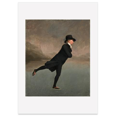 Reverend Robert Walker Sir Henry Raeburn Large Poster Print
