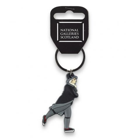 Reverend Robert Walker by Sir Henry Raeburn rubber keyring
