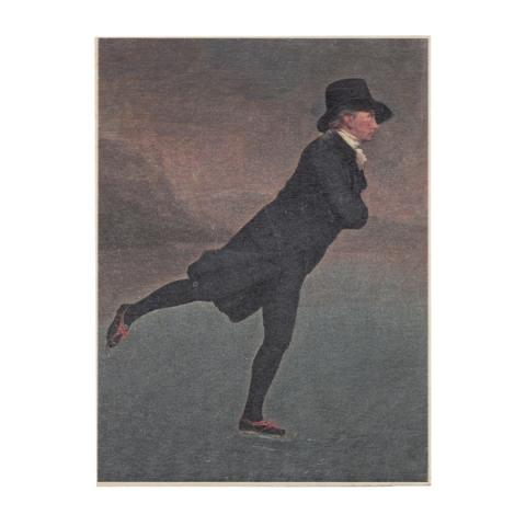 Reverend Robert Walker by Sir Henry Raeburn wooden print