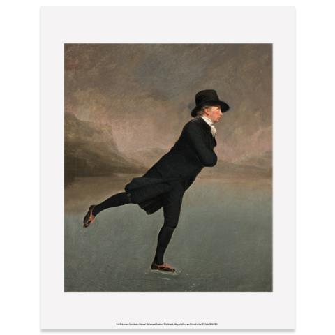 Reverend Walker by Sir Henry Raeburn art print