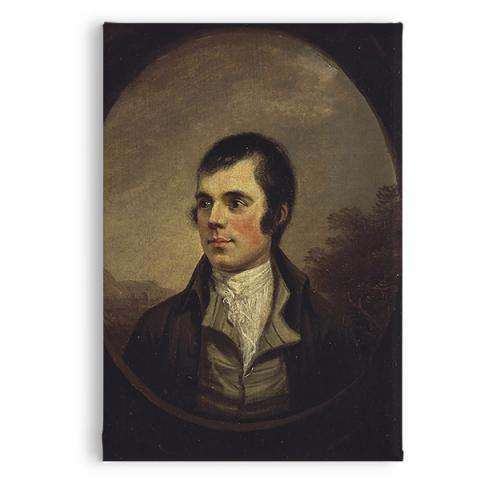 Robert Burns (oval) by Alexander Nasmyth magnet