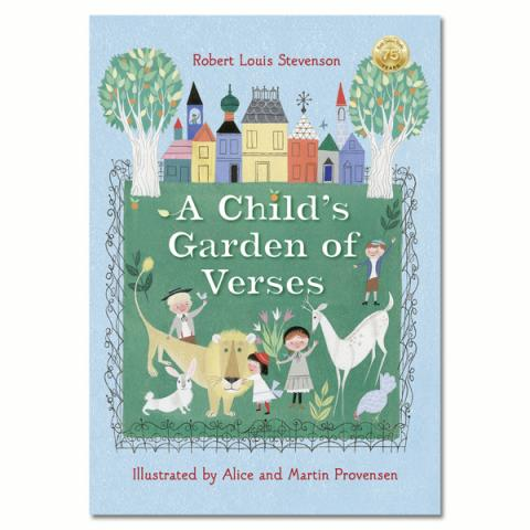 Robert Louis Stevenson's A Child's Garden Of Verses (hardback)
