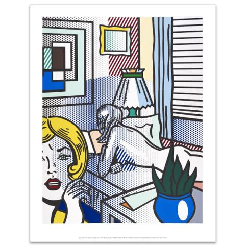 Roommates by Roy Lichtenstein art print