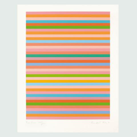 Rose Rose, 2011 by Bridget Riley Limited Edition Print