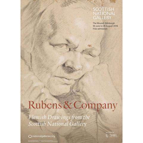 Rubens & Company exhibition poster
