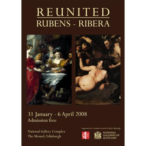 Reunited: Rubens - Ribera Exhibition Poster