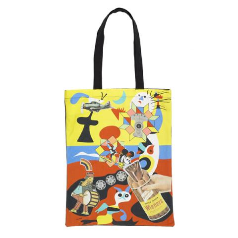 Sack-o-sauce by Eduardo Paolozzi reusable canvas tote bag