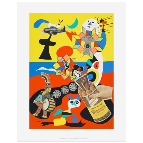 Sack-o-sauce Eduardo Paolozzi Art Print