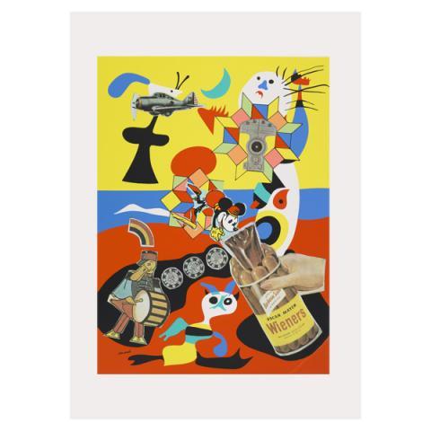 Sack-o-sauce Eduardo Paolozzi Poster Print