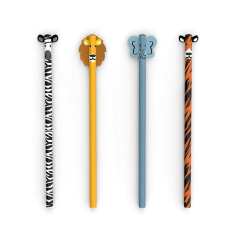 Safari Animals Pencil Set