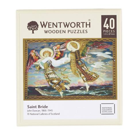 Saint Bride wooden jigsaw puzzle (40 pieces)