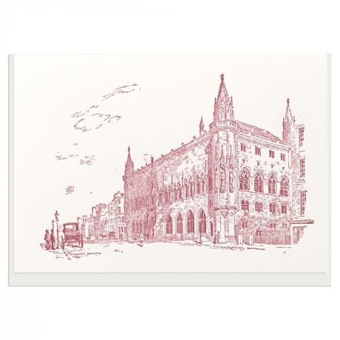Scottish National Portrait Gallery exterior greeting card