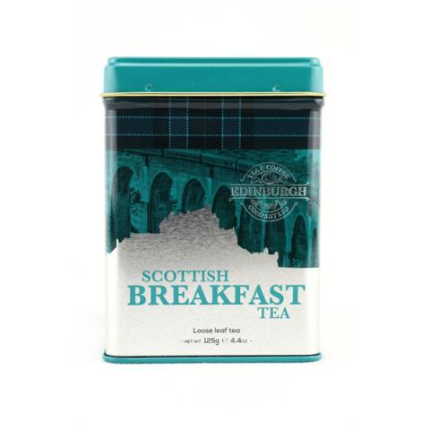 Scottish breakfast tea re-usable caddy