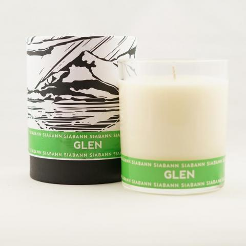 Scottish glen soy candle