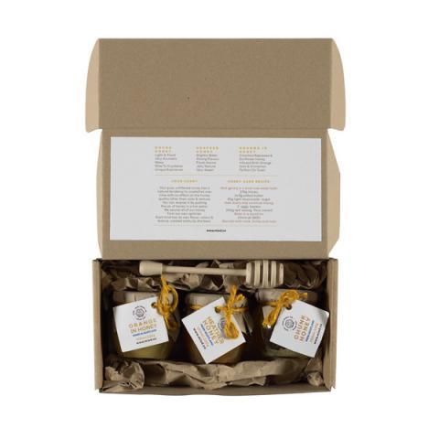 Scottish honey souvenir gift set