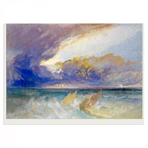 Sea View by Joseph Mallord William Turner greeting card