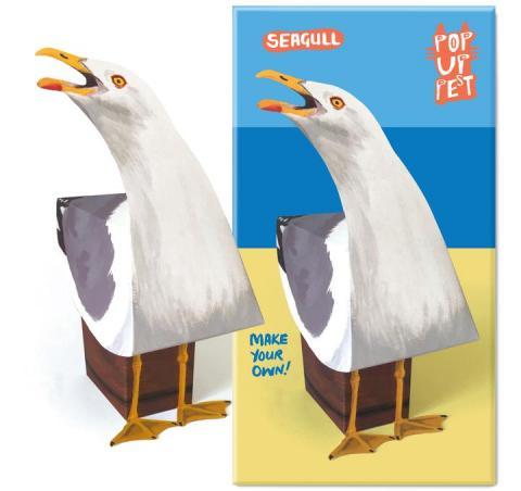 Seagull pop up pet