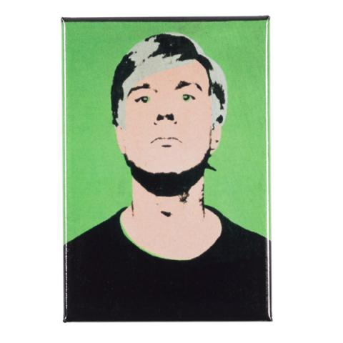 Self Portrait 1963 Green by Andy Warhol magnet