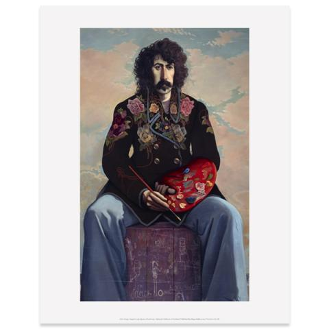 Self-Portrait by John Byrne art print