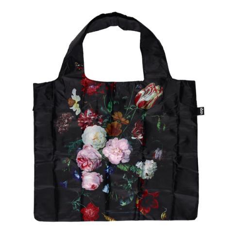 Dutch Floral Still Life LOQI Reusable Carrier Bag