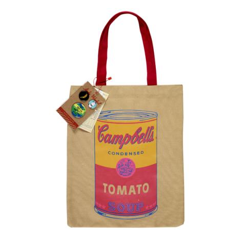 Campbell's Soup Can Andy Warhol Tote Bag