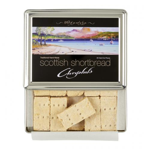 Chrystal's Shortbread Loch Lomond Tin