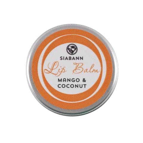 Mango & coconut hand-made lip balm