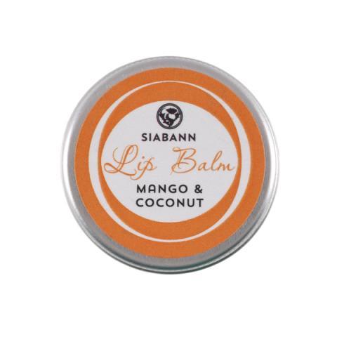 Siabann Mango & Coconut Lip Balm