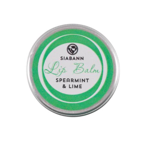 Spearmint & lime hand-made lip balm