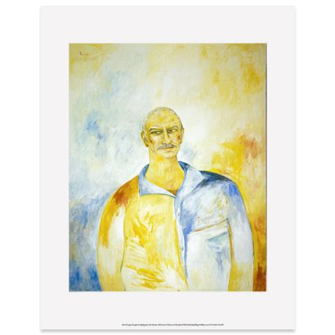 Sir Sean Connery by John Bellany art print