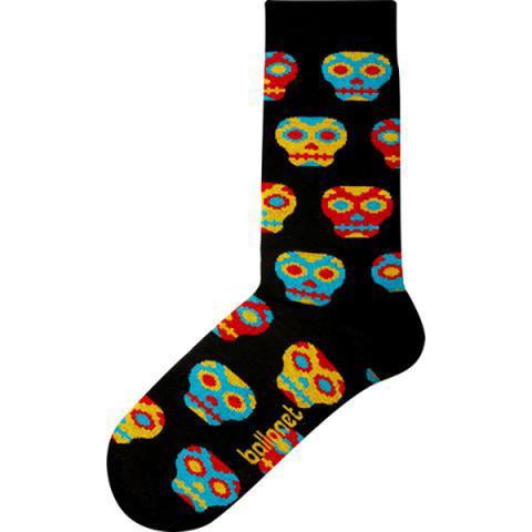 Skull unisex cotton socks (size 7.5-11.5 UK)