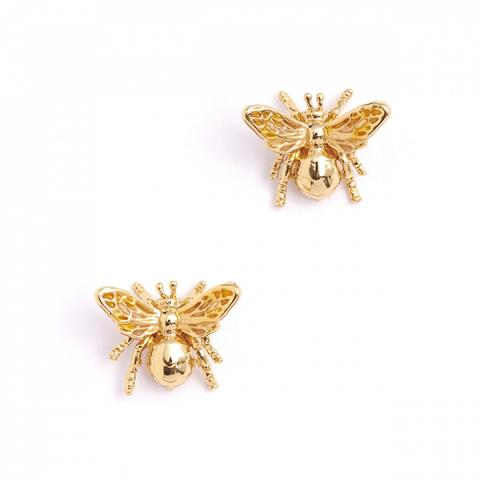 Queen bee small stud earrings