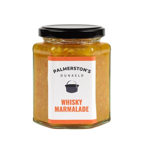 Small batch handmade whisky flavoured marmalade