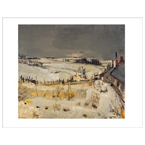 Snow Joan Eardley Art Print