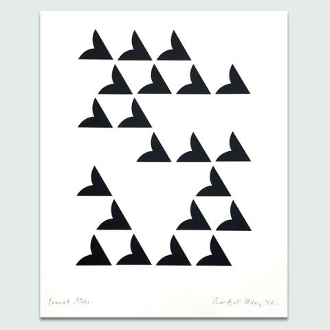 Sonnet, 2016 by Bridget Riley Limited Edition Print