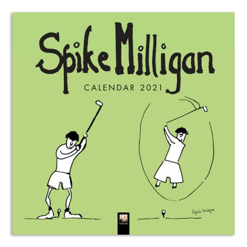 Spike Milligan 2021 wall calendar