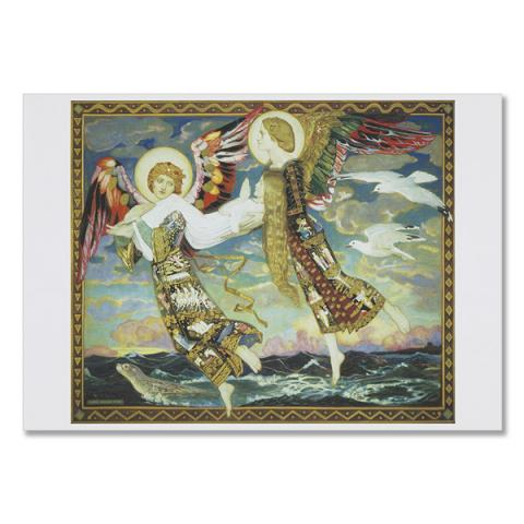 Saint Bride by John Duncan greeting card
