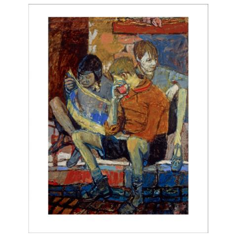 Street Kids by Joan Eardley art print