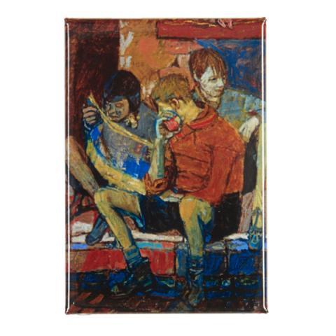 Street Kids Joan Eardley Magnet
