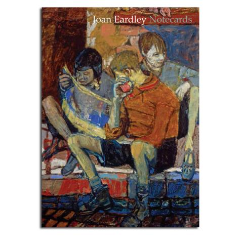Street Kids by Joan Eardley notecard wallet (10 cards)