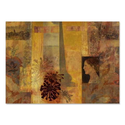 Studio Venice: Mirrored View Victoria Crowe Greeting Card