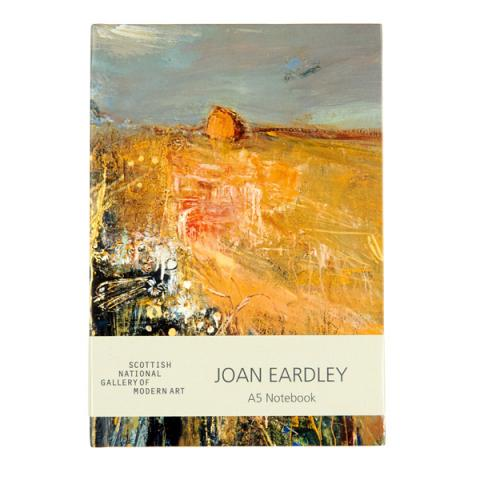 Summer Fields Joan Eardley A5 Hardback Notebook