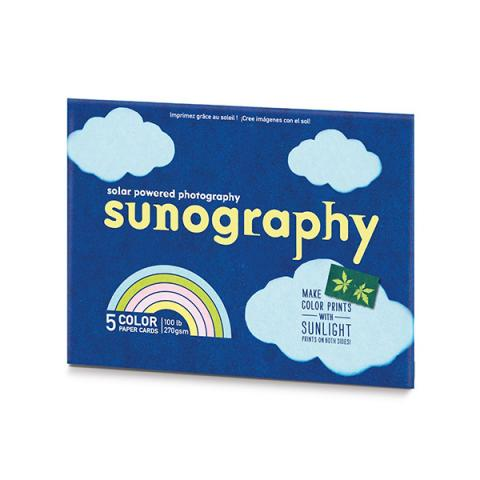 Sunography light sensitive photography card kit (5 sheets)